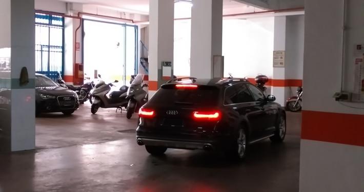 Parcheggio degli Eroi interno1