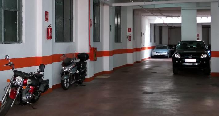 Parcheggio degli Eroi interno2