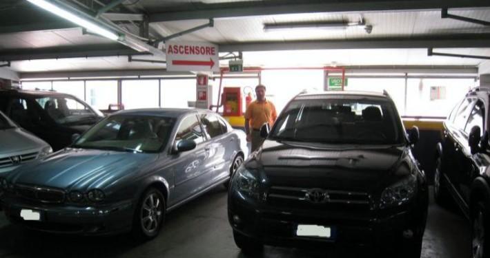 Parcheggio roma appia rampa livello2