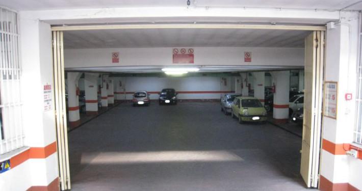 parcheggio viale marconi ingresso 1
