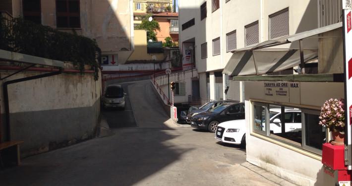 Parcheggio roma appia rampa