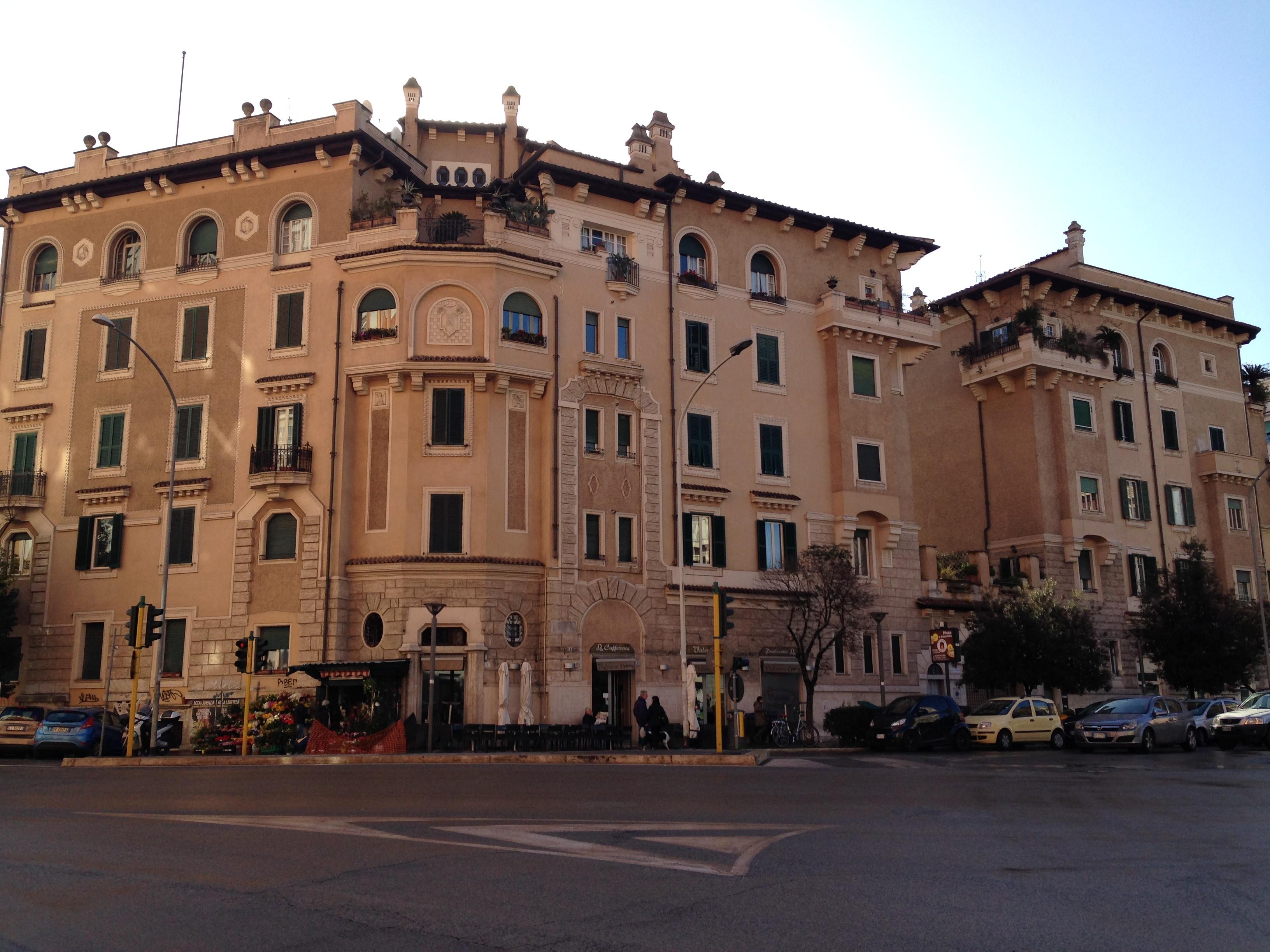 Il Quartiere San Giovanni - Parking Roma