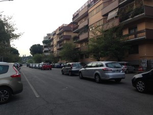 Where to park in Rome, not here!!!