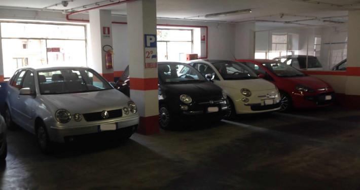 Parcheggio roma appia livello 1