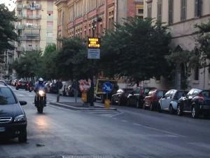 ZTL Roma uno degli accessi nella zona Testaccio
